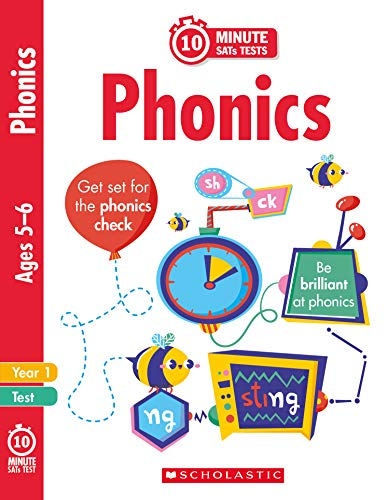 10 Minute SATs Tests Phonics - Year 1 - Helen Betts - 9781407183473