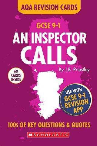 GCSE Grades 9-1 Revision Cards An Inspector Calls AQA English Literature - Rob Pollard - 9781407183527