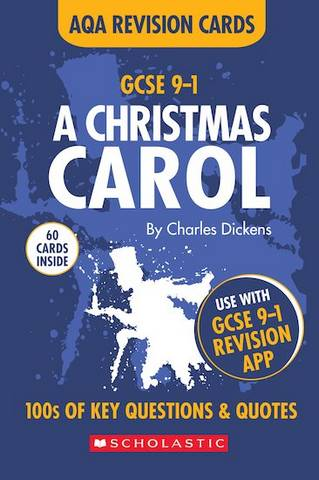 GCSE Grades 9-1 Revision Cards A Christmas Carol AQA English Literature - Alison Powell - 9781407183541