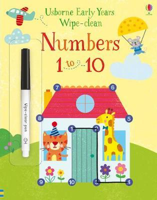 Numbers 1 to 10 - Jessica Greenwell - 9781474951241