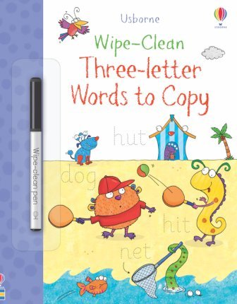 Wipe-Clean Three-Letter Words to Copy - Jane Bingham - 9781474968393