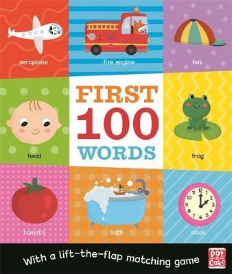 First 100 Words - Pat-a-Cake - 9781526382283
