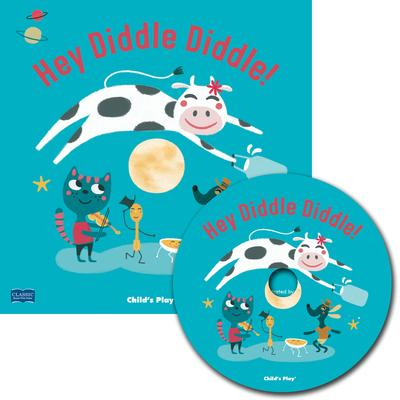Classic Books with Holes Soft Cover with CD: Hey Diddle Diddle! - Emma Schmid - 9781786283702