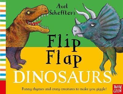 Axel Scheffler's Flip Flap Dinosaurs - Axel Scheffler - 9781788003315