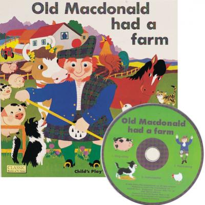 Classic Books with Holes Soft Cover with CD: Old Macdonald had a Farm - Pam Adams - 9781846430510