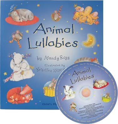 Animal Lullabies with CD - Mandy Ross - 9781846430527