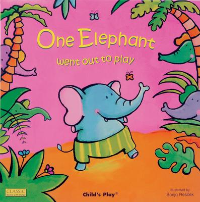 Classic Books with Holes Soft Cover: One Elephant went out to Play - Sanja Rescek - 9781846431074