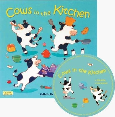 Classic Books with Holes Soft Cover with CD: Cows in the Kitchen - Airlie Anderson - 9781846432033