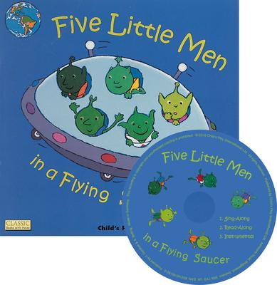 Classic Books with Holes Soft Cover with CD: Five Little Men in a Flying Saucer - Dan Crisp - 9781846433825