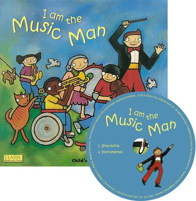 Classic Books with Holes Soft Cover with CD: I am the Music Man - Debra Potter - 9781846433856