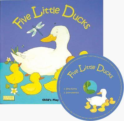Classic Books with Holes Soft Cover with CD: Five Little Ducks - Penny Ives - 9781846433887