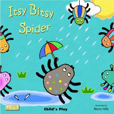 Classic Books with Holes Board Book: Itsy Bitsy Spider - Nora Hilb - 9781846435096