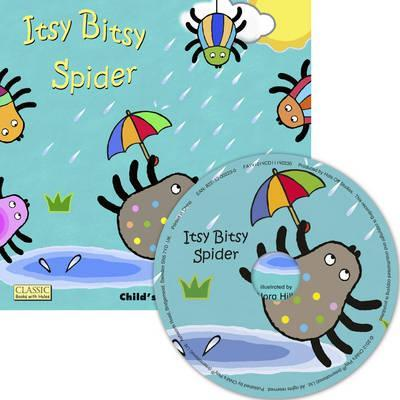 Classic Books with Holes Soft Cover with CD: Itsy Bitsy Spider - Nora Hilb - 9781846436765