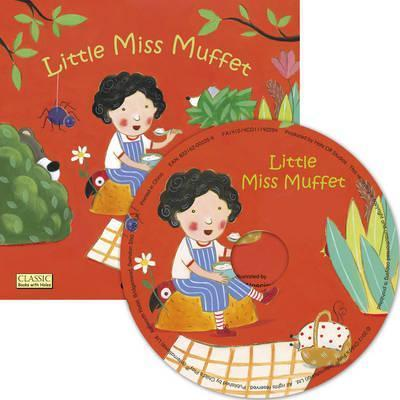 Classic Books with Holes Soft Cover with CD: Little Miss Muffet - Barbara Nascimbeni - 9781846436789