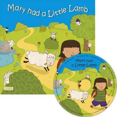Classic Books with Holes Soft Cover with CD: Mary had a Little Lamb - Marina Aizen - 9781846436796