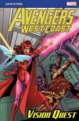Avengers West Coast: Vision Quest - Byrne John - 9781846532078