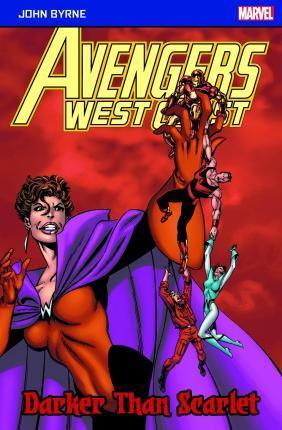 Avengers West Coast: Darker Than Scarlet - Byrne John - 9781846532092