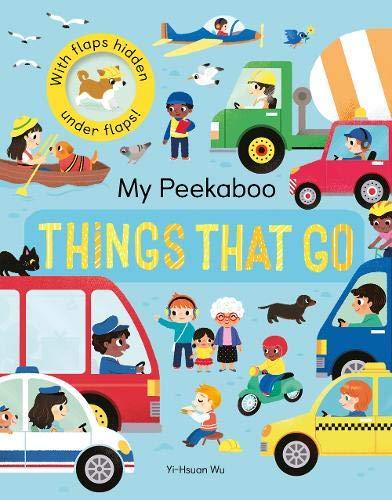My Peekaboo Things That Go - Jonny Marx - 9781848578838