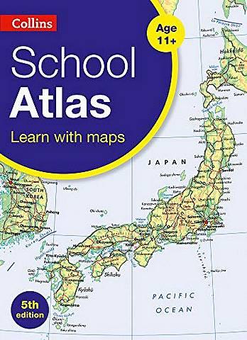 Collins School Atlas (Collins School Atlases) - Collins Maps - 9780008319465