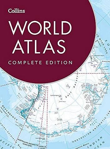 Collins World Atlas: Complete Edition - Collins Maps - 9780008344405