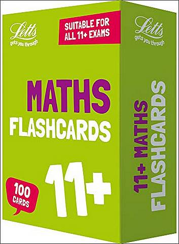 11+ Maths Flashcards (Letts 11+ Success) - Letts 11+ - 9780008356217