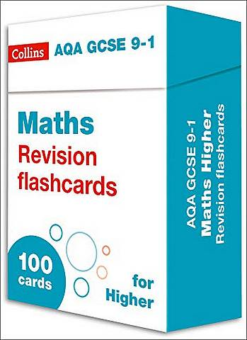 AQA GCSE 9-1 Maths Higher Revision Cards: For the 2020 Autumn & 2021 Summer Exams (Collins GCSE Grade 9-1 Revision) - Collins GCSE - 9780008359751