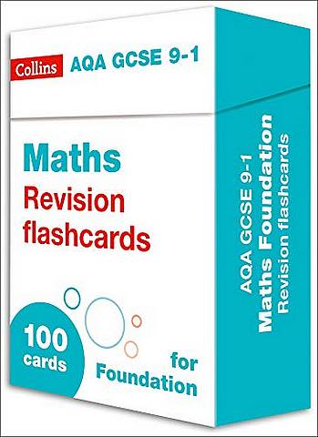 AQA GCSE 9-1 Maths Foundation Revision Cards: For the 2020 Autumn & 2021 Summer Exams (Collins GCSE Grade 9-1 Revision) - Collins GCSE - 9780008359768