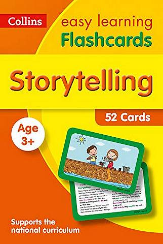 Storytelling Flashcards: Prepare for Preschool with easy home learning (Collins Easy Learning Preschool) - Collins Easy Learning - 9780008387853