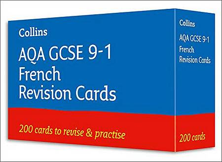 AQA GCSE 9-1 French Vocabulary Revision Cards: For the 2020 Autumn & 2021 Summer Exams (Collins GCSE Grade 9-1 Revision) - Collins GCSE - 9780008399337