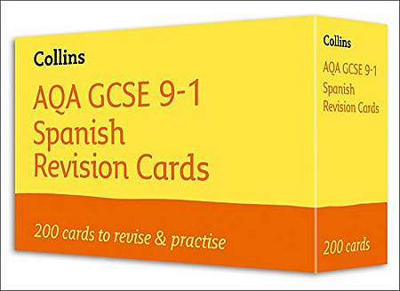AQA GCSE 9-1 Spanish Vocabulary Revision Cards: For the 2020 Autumn & 2021 Summer Exams (Collins GCSE Grade 9-1 Revision) - Collins GCSE - 9780008399344