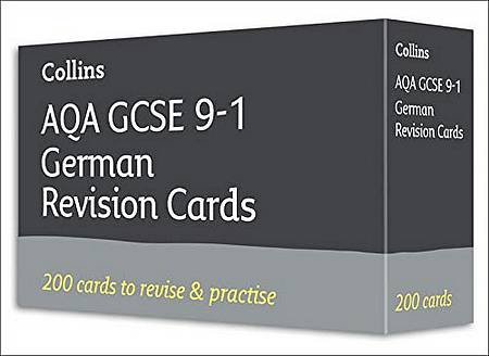 AQA GCSE 9-1 German Vocabulary Revision Cards: For the 2020 Autumn & 2021 Summer Exams (Collins GCSE Grade 9-1 Revision) - Collins GCSE - 9780008399351