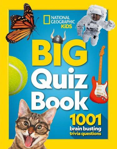 Big Quiz Book: 1001 brain busting trivia questions - National Geographic Kids - 9780008408961