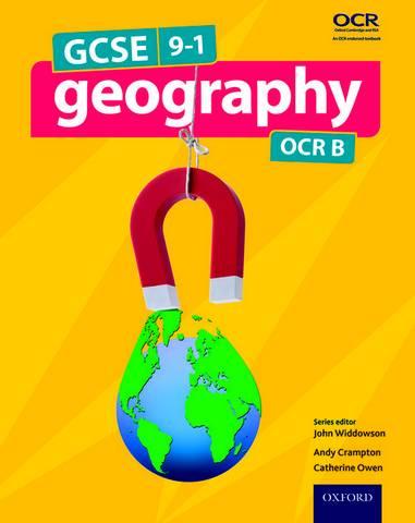 GCSE Geography OCR B Student Book - John Widdowson - 9780198366652