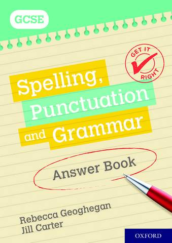 Get It Right: for GCSE: Spelling