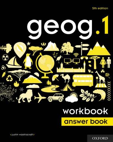 geog.1 Workbook Answer Book - Justin Woolliscroft - 9780198446071