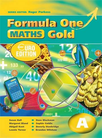 Formula One Maths Euro Edition Gold Pupil's Book A - Roger Porkess - 9780340928677