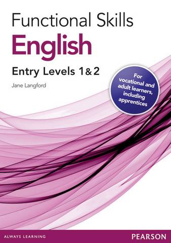 Functional Skills English Entry 1 and 2 Teaching and Learning Resource Disks - Jane Langford - 9780435075156