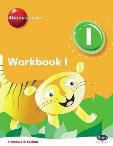 Abacus Evolve Y1/P2 Workbook 1 (Pack of 8) Framework Edition -  - 9780602574987
