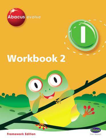 Abacus Evolve Y1/P2 Workbook 2 (Pack of 8) Framework Edition - Ruth Merttens