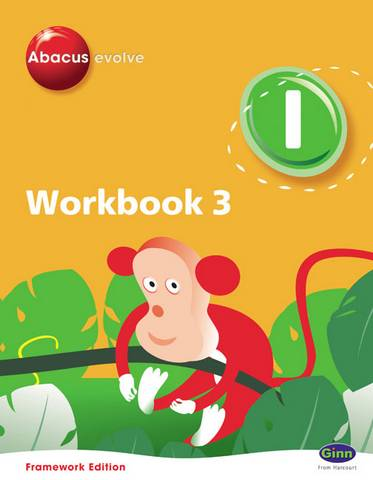 Abacus Evolve Y1/P2 Workbook 3 (Pack of 8) Framework Edition -  - 9780602575007