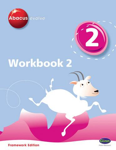 Abacus Evolve Y2/P3 Workbook 2 (Pack of 8) Framework - Ruth Merttens