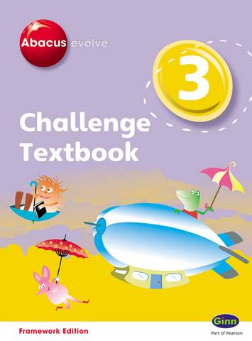 Abacus Evolve Challenge Year 3 Textbook - Adrian Pinel - 9780602577728