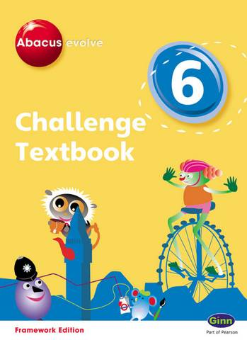 Abacus Evolve Challenge Year 6 Textbook - Carol Richardson - 9780602577780