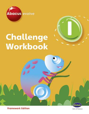 Abacus Evolve Challenge Year 1 Workbook Pack (Pack of 4) - Gill Potter - 9780602578114