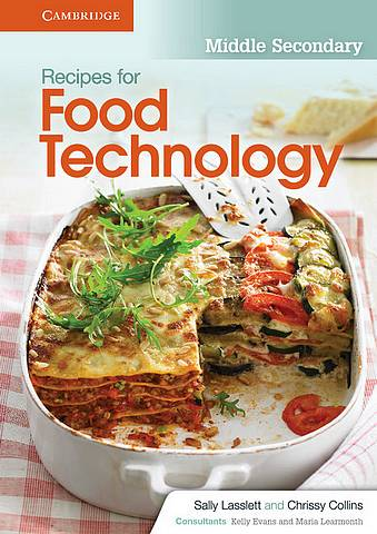 Recipes for Food Technology Middle Secondary Workbook - Sally Lasslett - 9781107692305