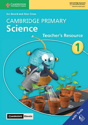 Cambridge Primary Science Stage 1 Teacher's Resource with Cambridge Elevate - Jon Board - 9781108678285