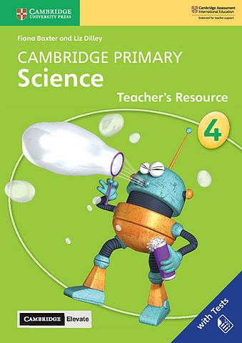 Cambridge Primary Science Stage 4 Teacher's Resource with Cambridge Elevate - Fiona Baxter - 9781108678315