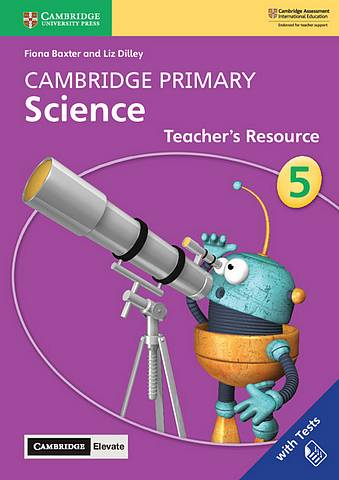 Cambridge Primary Science Stage 5 Teacher's Resource with Cambridge Elevate - Fiona Baxter - 9781108678339