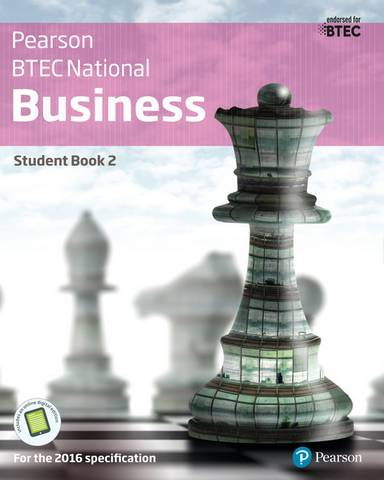 BTEC Nationals Business Student Book 2 + Activebook: For the 2016 specifications - Catherine Richards - 9781292126258