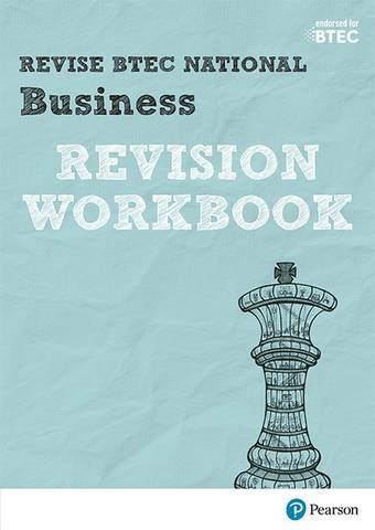 Revise BTEC National Business Revision Workbook -  - 9781292150116